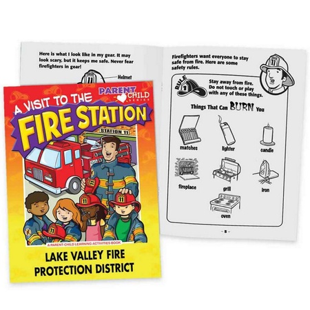 A Visit To The Fire Station Personalized Activities Books