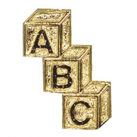 ABC Lapel Pin