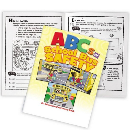 ABCs Of School Bus Safety Activities Books