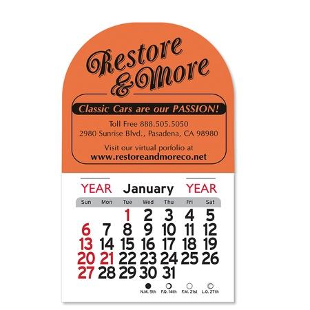 Adhesive Peel-N-Stick Arch 2022 Calendars