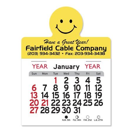 Adhesive Peel-N-Stick Smile Face 2021 Calendars