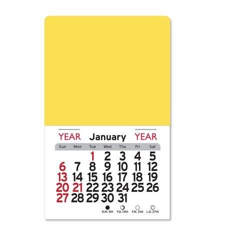 Adhesive Peel-N-Stick Square 2022 Promotional Calendars