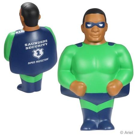 African American Super Hero Stress Relievers