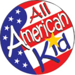 All American Kid Stickers