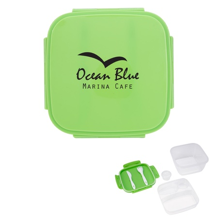 All-Purpose Lunch Set with Imprinted Lid