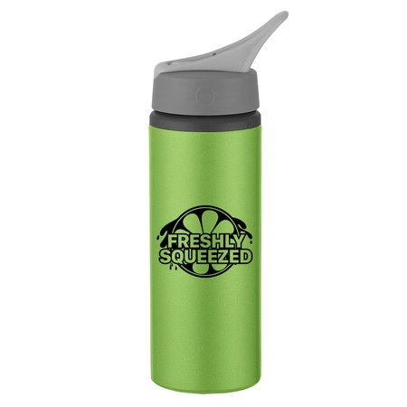Custom 25 oz. Aluminum Bike Bottles