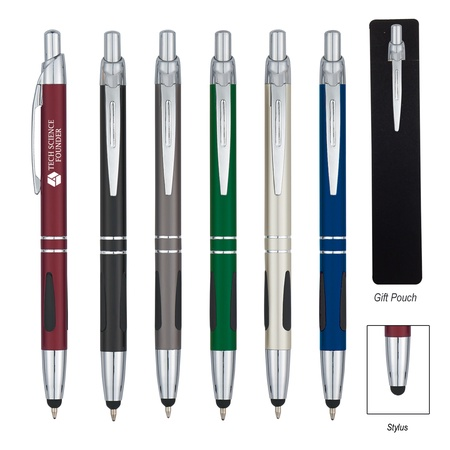 Personalized Aluminum Pen With Stylus