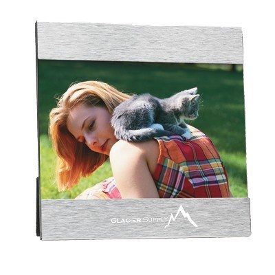 "Aluminum Photo Frame - 4"" x 6"""