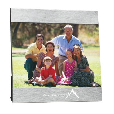 "Personalized  5"" x 7"" Aluminum Photo Frames"