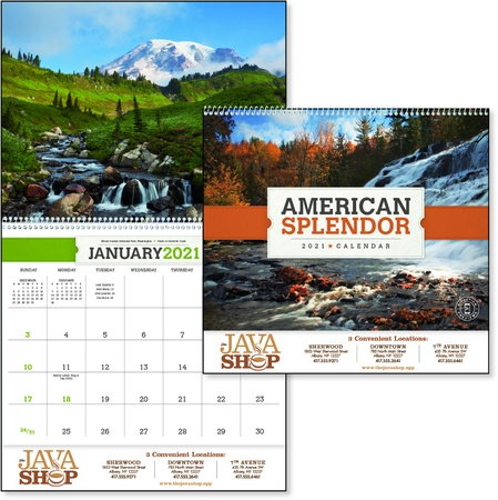 American Splendor 2021 Personalized Calendars