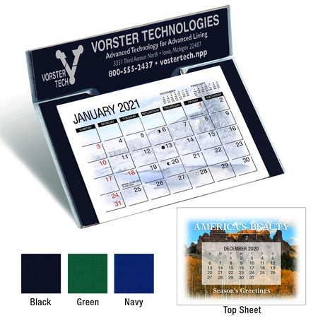 America's Beauty 2021 Promotional Desk Calendars