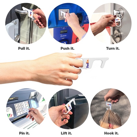 Anti-Germ Touch Tool