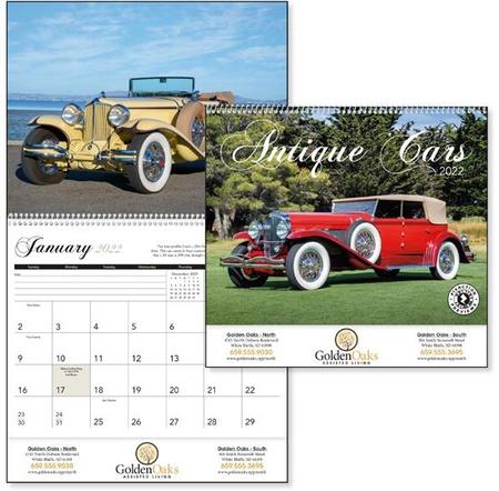 Antique Cars 2022 Custom Calendars