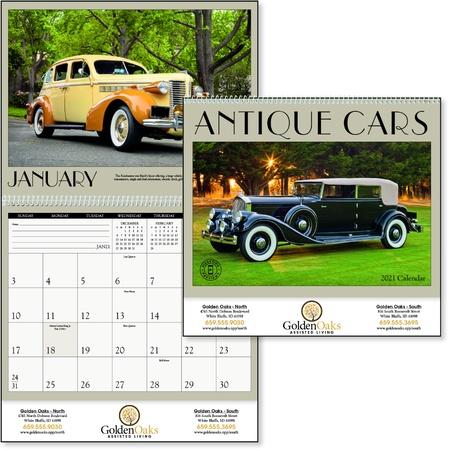 Antique Cars 2021 Custom Calendars
