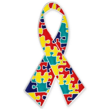 Autism Ribbon Pin