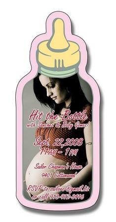 Baby Bottle Magnet