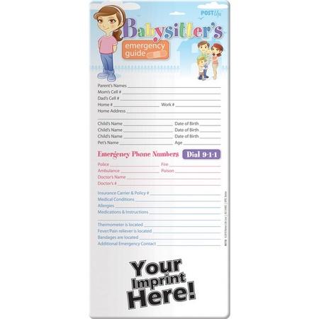 Babysitter's Emergency Guide Post Up
