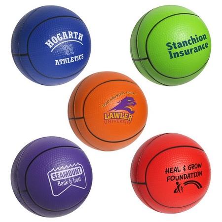 Custom Basketball Stress Balls