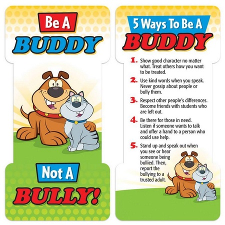 Be a Buddy Not A Bully! Bookmark