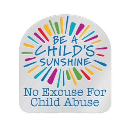 Be A Child's Sunshine Lapel Pin