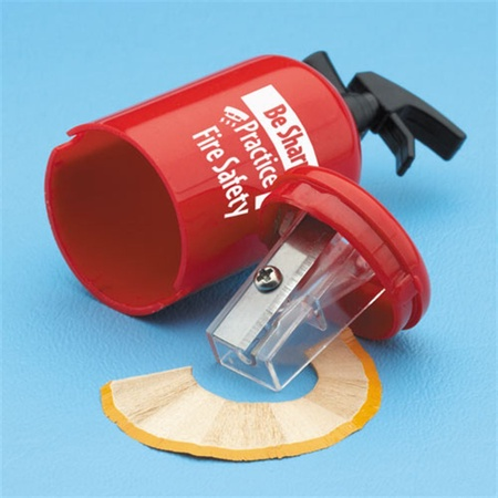 Be Sharp: Practice Fire Safety Extinguisher Pencil Sharpener