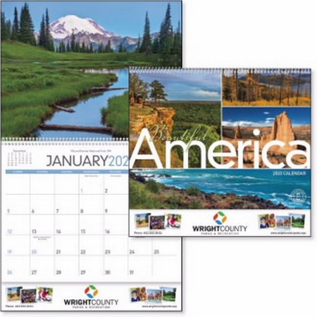 Beautiful America Calendar - 2020
