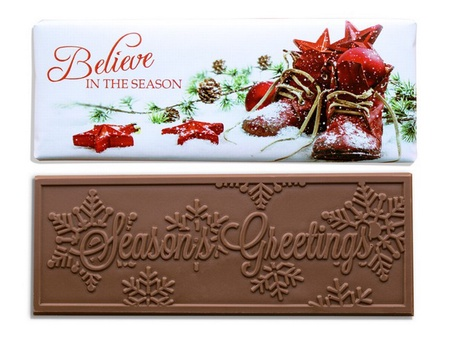 Believe In The Season Chocolate Bars