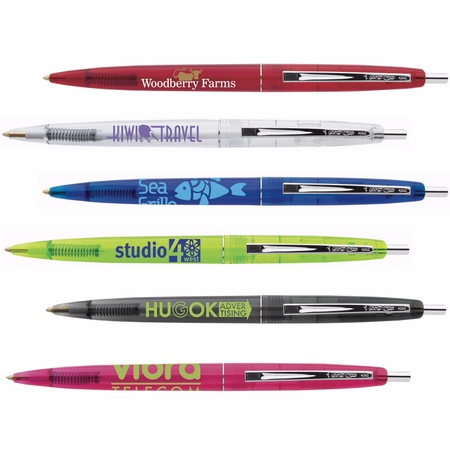 Bic Clear Clic Promotional Pens