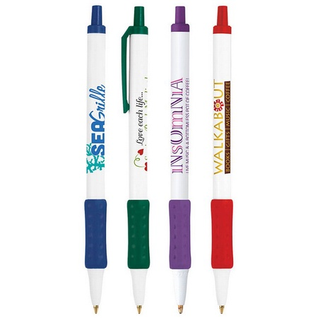 Bic Clic Stic with Rubber Grip Pen