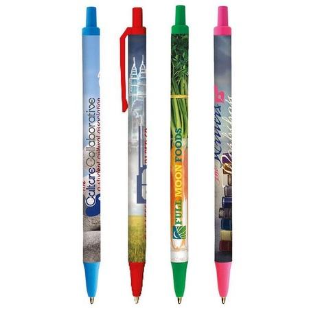 Full Color Custom Bic Digital Clic Stic Pens