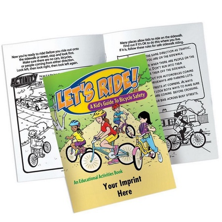 Bicycle Safety Activity Book