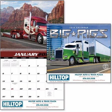 Big Rigs Calendar - 2020