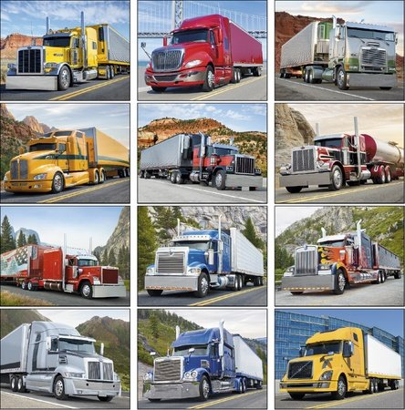 Big Rigs 2021 Promotional Wall Calendars