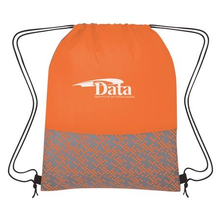Bitmap Custom Drawstring Backpacks