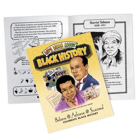 Black History Educational Activity Book