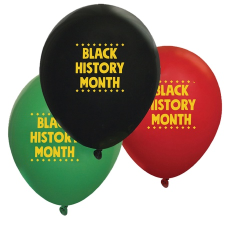 Black History Month Balloons