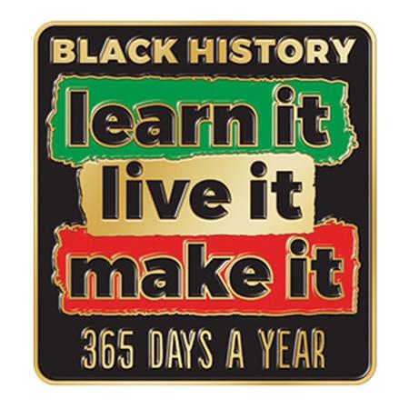 Black History Month Lapel Pins