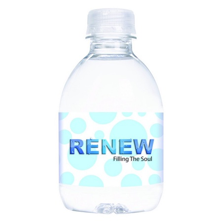 Bottled Water with Custom Label - 8 oz.