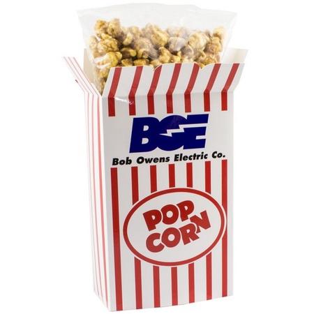Box of Carmel Popcorn