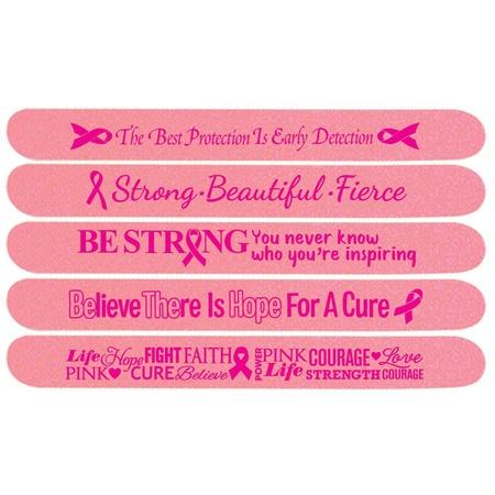 Breast Cancer Awareness Emery Board Assortment Pack