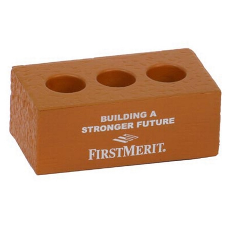 Promotional Brick Stress Balls