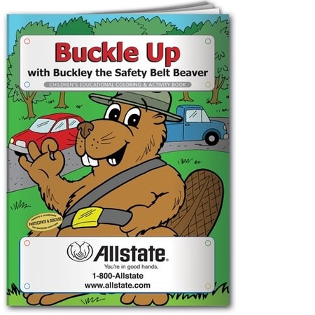 Buckle Up Coloring & Activity Book
