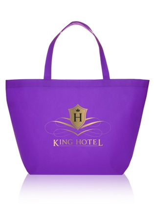 Budget Non-Woven Promotional Shopper Tote Bags