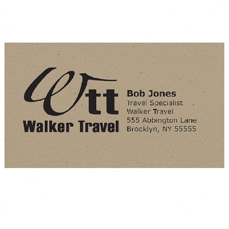 Business Card Recycled Magnet