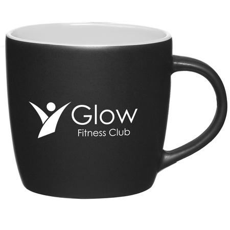 Personalized 12 oz. Cafe Mugs