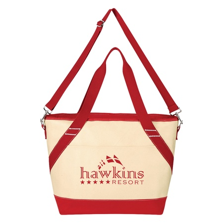 Custom Canvas Cooler Tote Bags