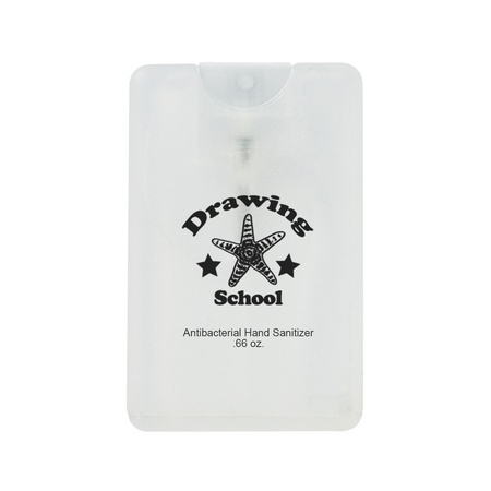 Card Shape Hand Sanitizer with Imprint