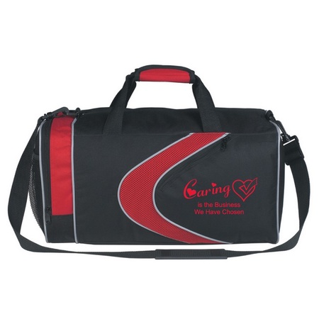 Caring Is The Business We Have Chosen Duffel Bag
