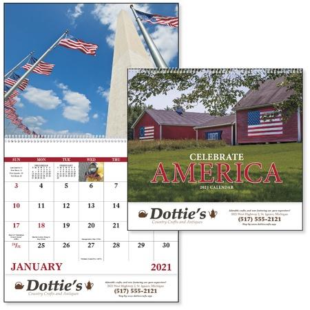 Celebrate America 2021 Custom Wall Calendars