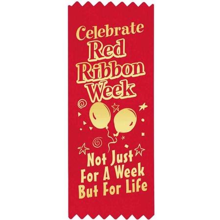 Celebrate Red Ribbon Week Ribbons
